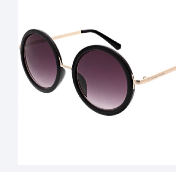 489779fbd7220 Catherine Malandrino Oversized Round Sunglasses